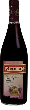 Kedem Concord Naturally Sweet Kosher
